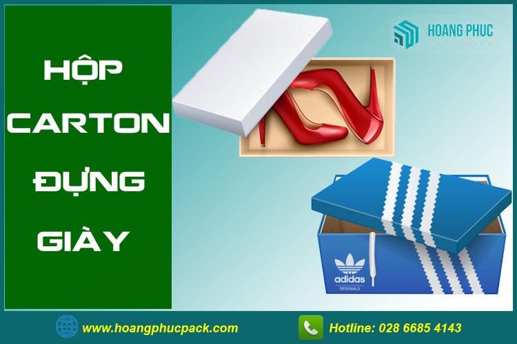 Hộp carton đựng giày