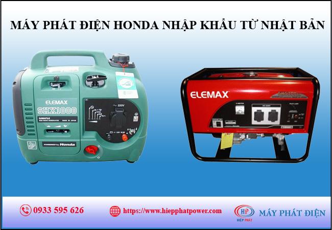 Máy phát điện Honda nhập khẩu từ Nhật Bản