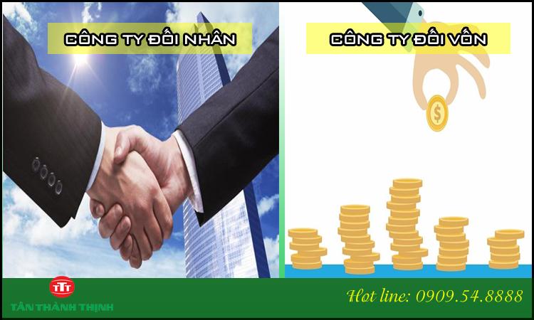 Phân biệt công ty đối nhân và công ty đối vốn