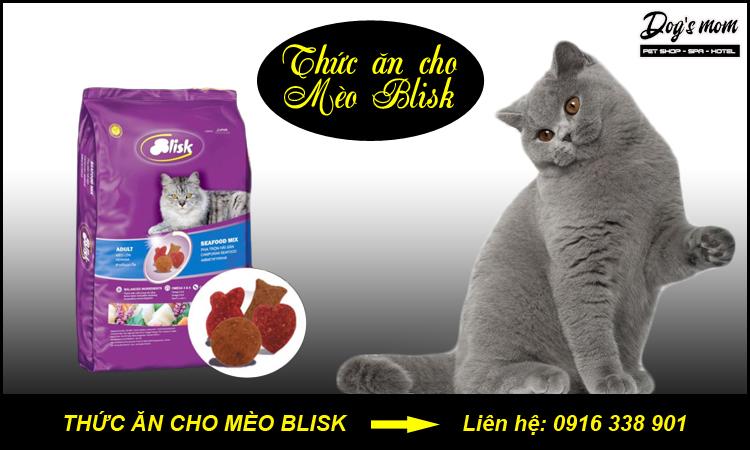 Thức ăn cho mèo Blisk