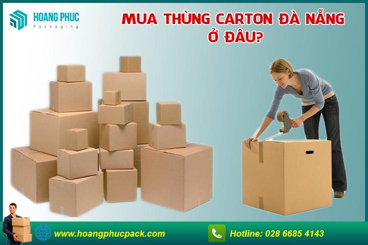 Thùng carton Đà Nẵng