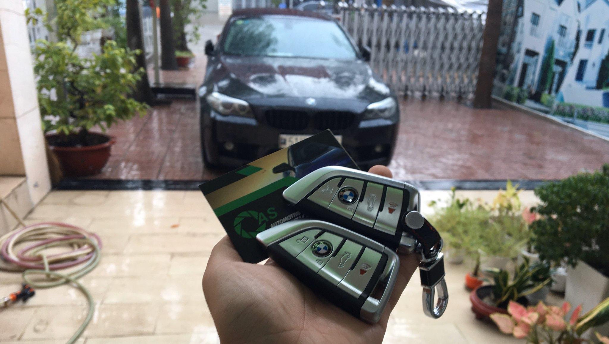 Làm chìa khóa ô tô các dòng xe