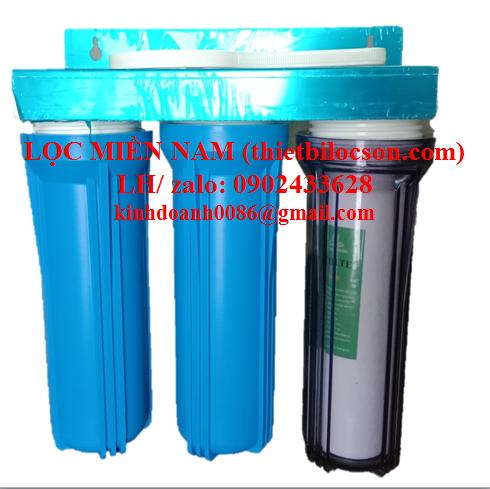 Bộ ba cốc lọc nước 10 inch cho gia đình