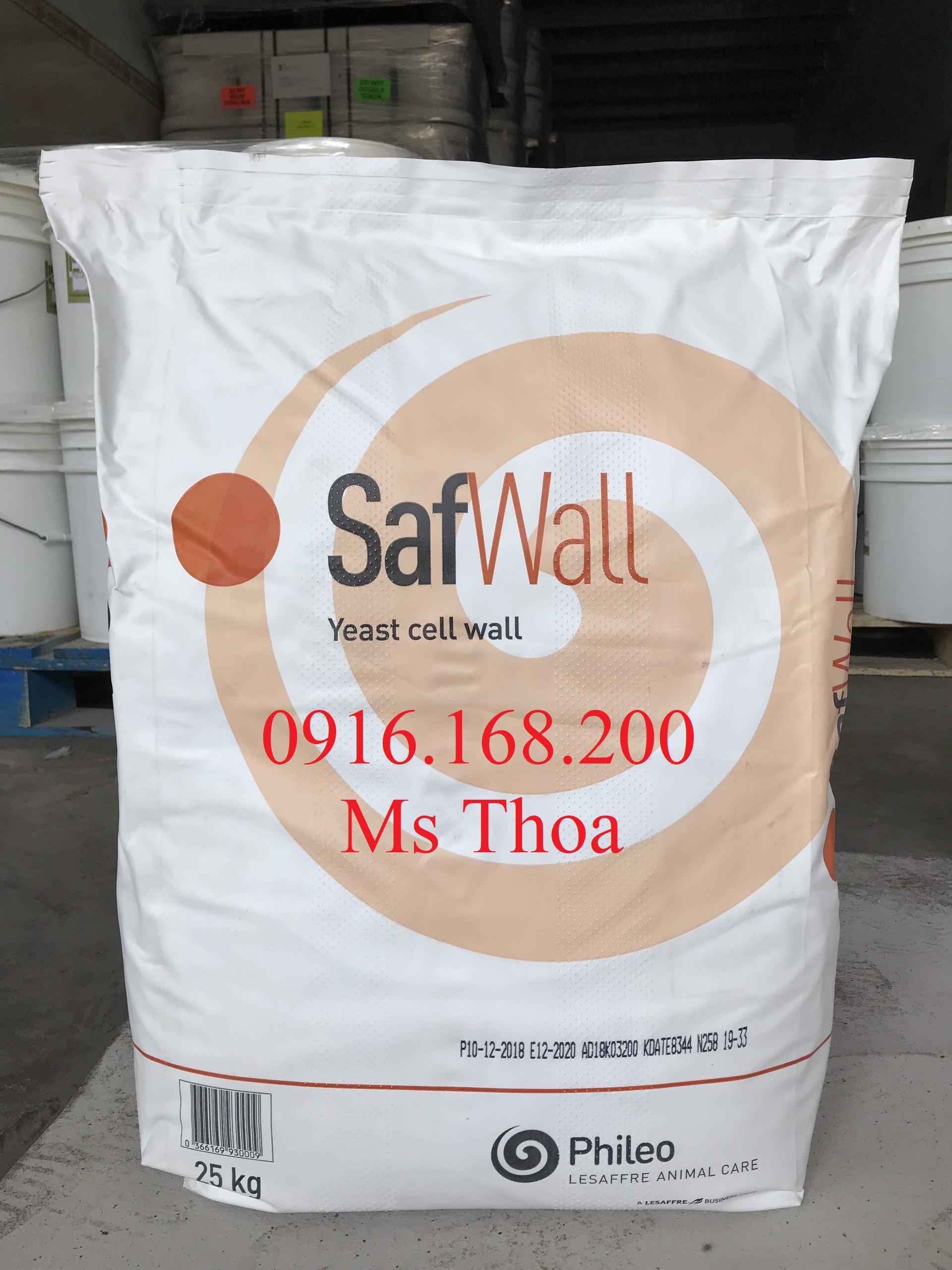 Safwall: Betaglucan và MOS tăng cường miễn dịch, hỗ trợ tiêu hóa