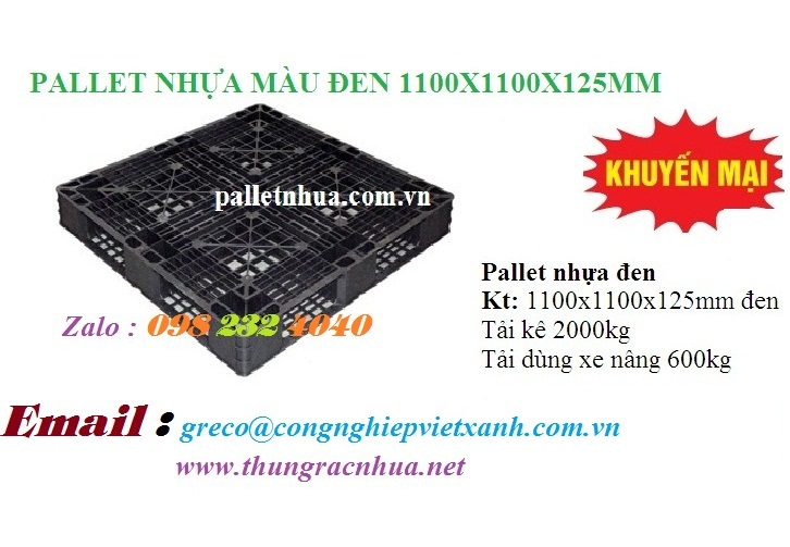 Pallet 1100x1100x125 mm