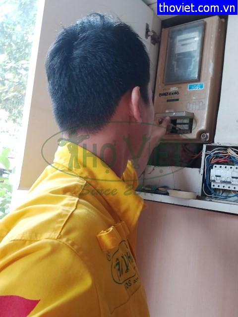 Thợ sửa điện tại nhà giá rẻ